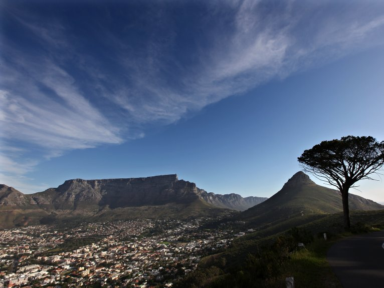 TABLE MOUNTAIN AND CITY HALF DAY