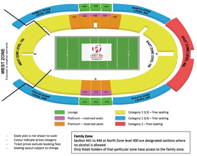 Singapore 7s 2017 Hotel And Ticket Package Gullivers