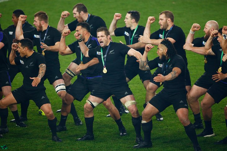 All blacks Winning haka