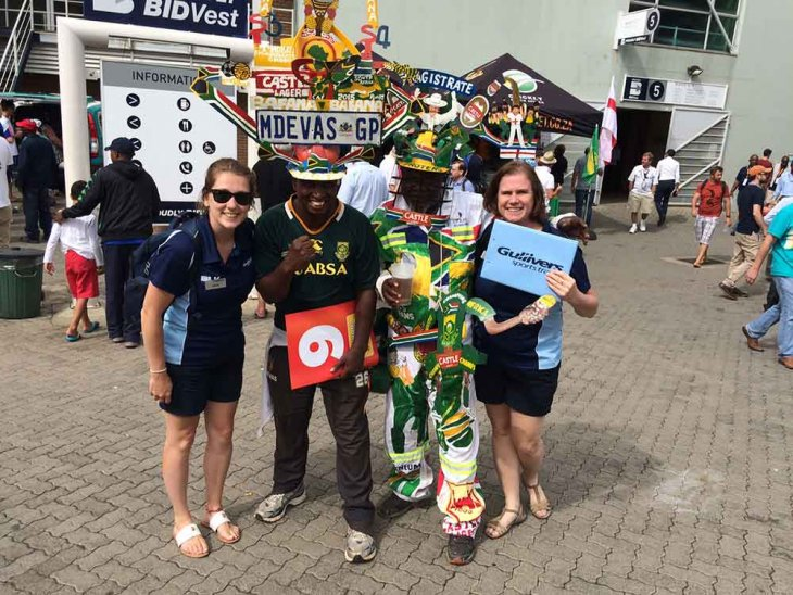 England Cricket Tour to South Africa 2015/16