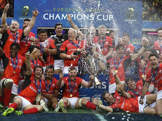 Saracens lift European Champions Cup for second year in a row