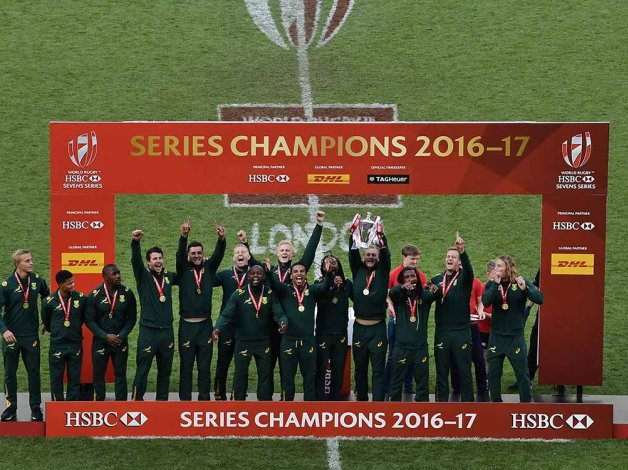 South Africa 7s series win