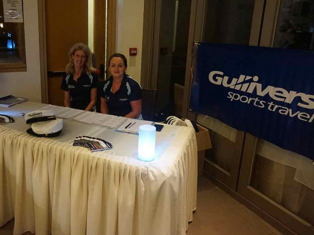 Gullivers representatives at Hong Kong Sevens