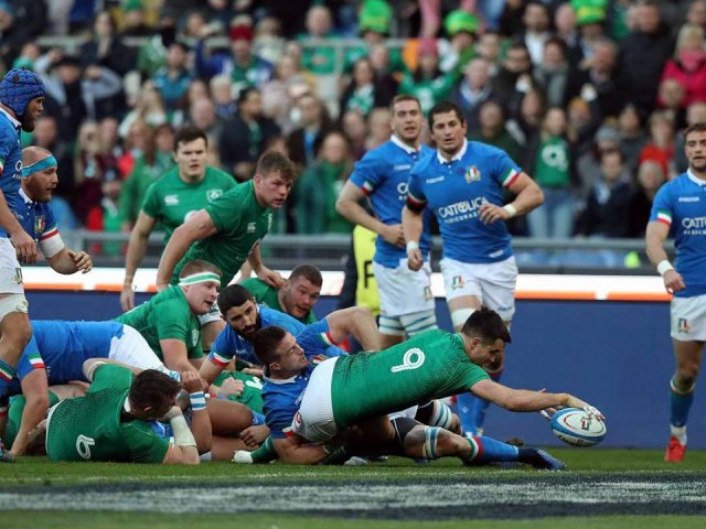 Ireland v Italy Six Nations