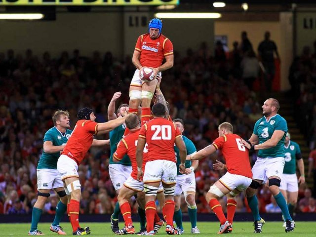 Wales v Ireland rugby match