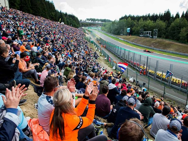 Belgian Grand Prix 3 Night Hotel and Ticket 2019