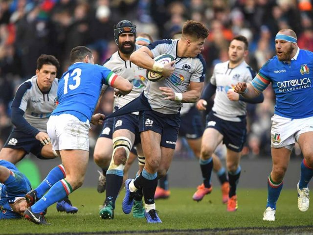 Italy V Scotland Six Nations