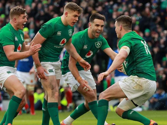 Ireland v France Six Nations 2020