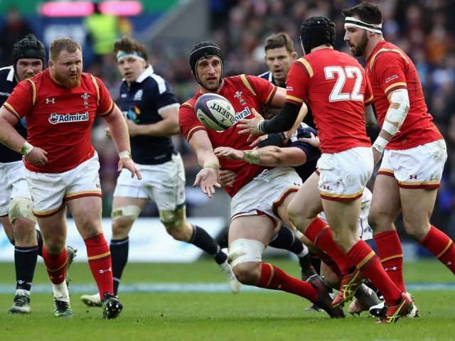 Wales v Scotland rugby match