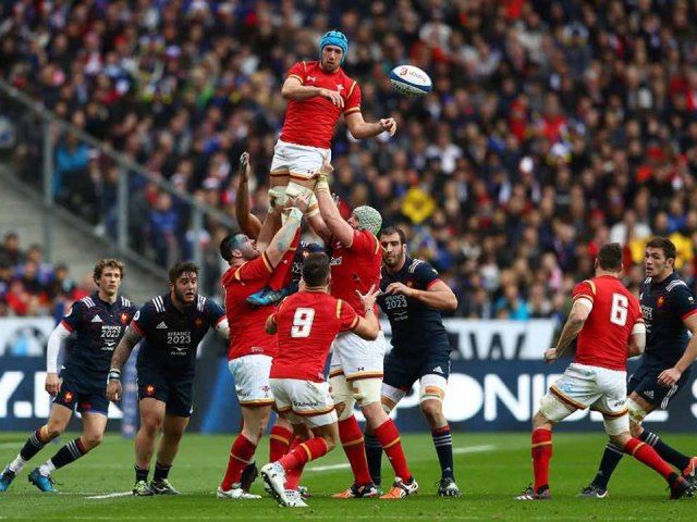 France v Wales Rugby match