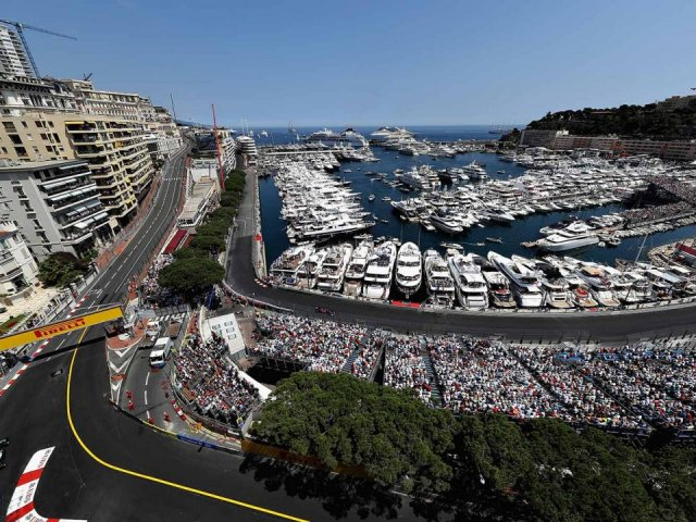 Monaco Grand Prix view from Caravelle