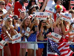 USA rugby sevens fans