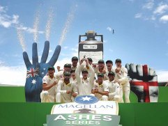 Australia win ashes