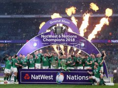 Ireland win the 2018 Six Nations