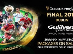 Official travel partner for pro14