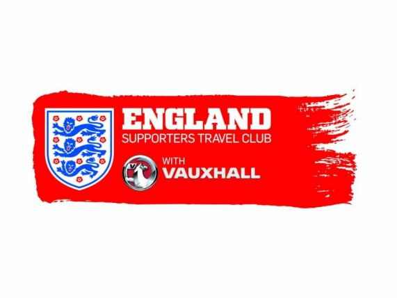 England supporters travel