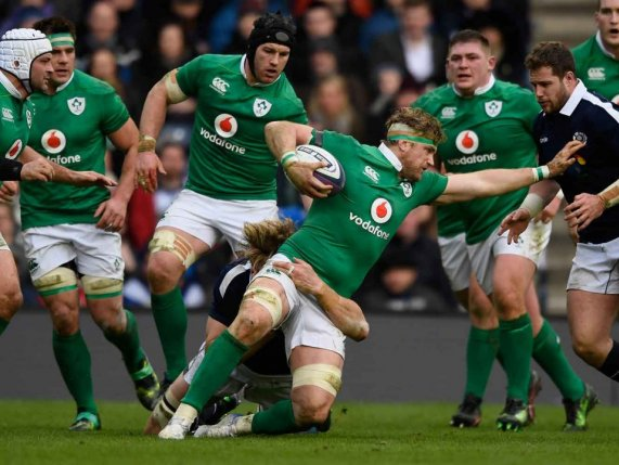 Irish Rugby Team in the Six Nations