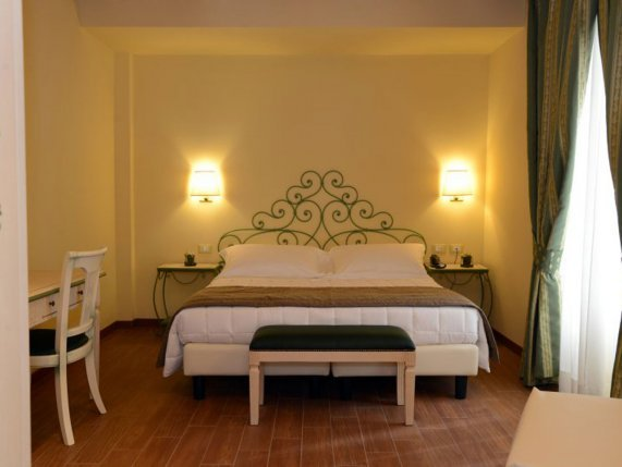 Borogo Antico Hotel double room accommodation