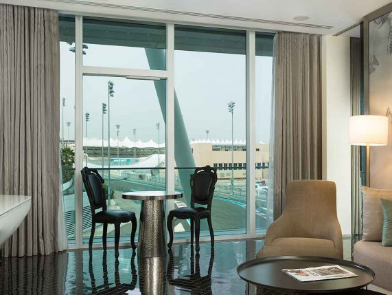 Yas Island Viceroy race track suite