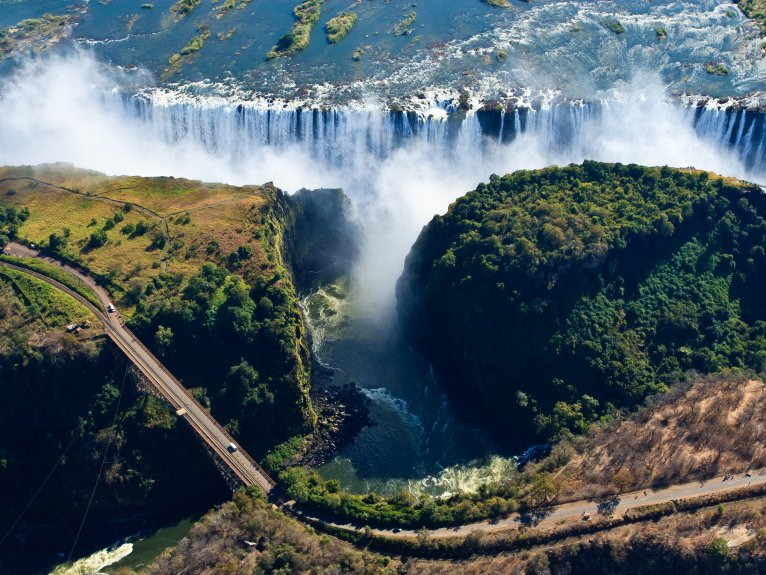Walking Tour of Victoria Falls 8.30am departure