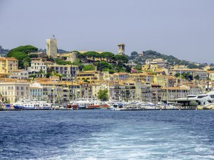Hotel accommodation in Cannes